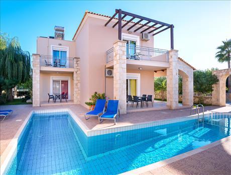Seafront villa complex2 - 8 days Luxury Gastronomy Tour in Crete Greece - The Origin of Mediterranean Cuisine!