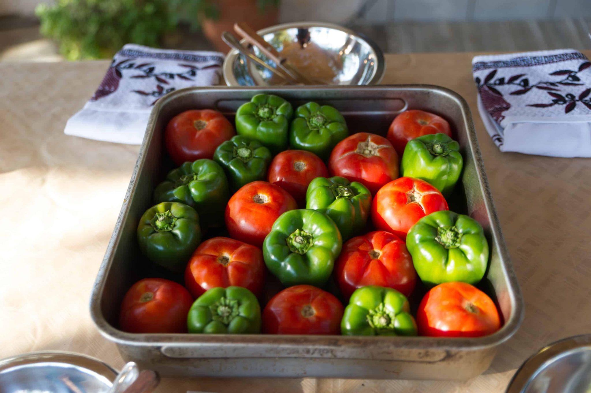 Gemista - Greek cuisine recipe