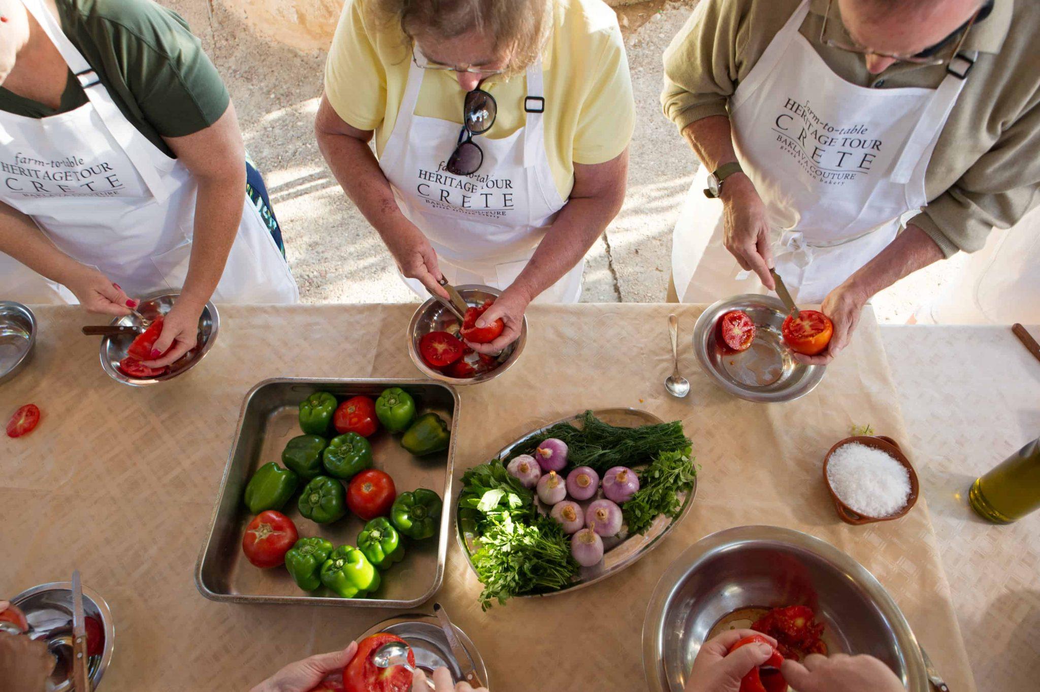 Cooking class Crete