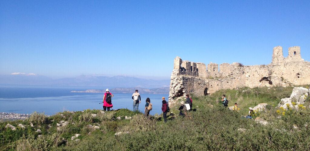 Acrocorinth-fortress-Peloponnese-Greece