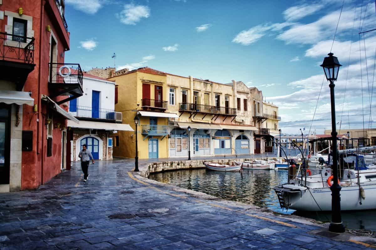 old_port_Rethymno_Crete_Greece