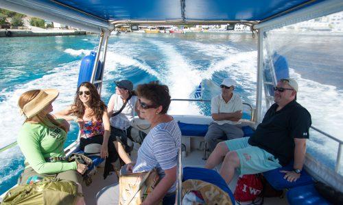 Boat tour southern Crete