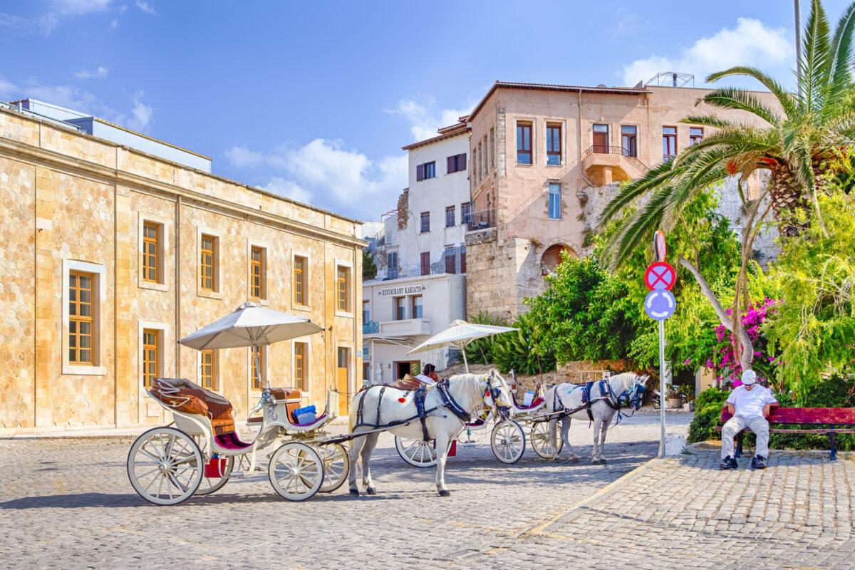 Chania city Crete